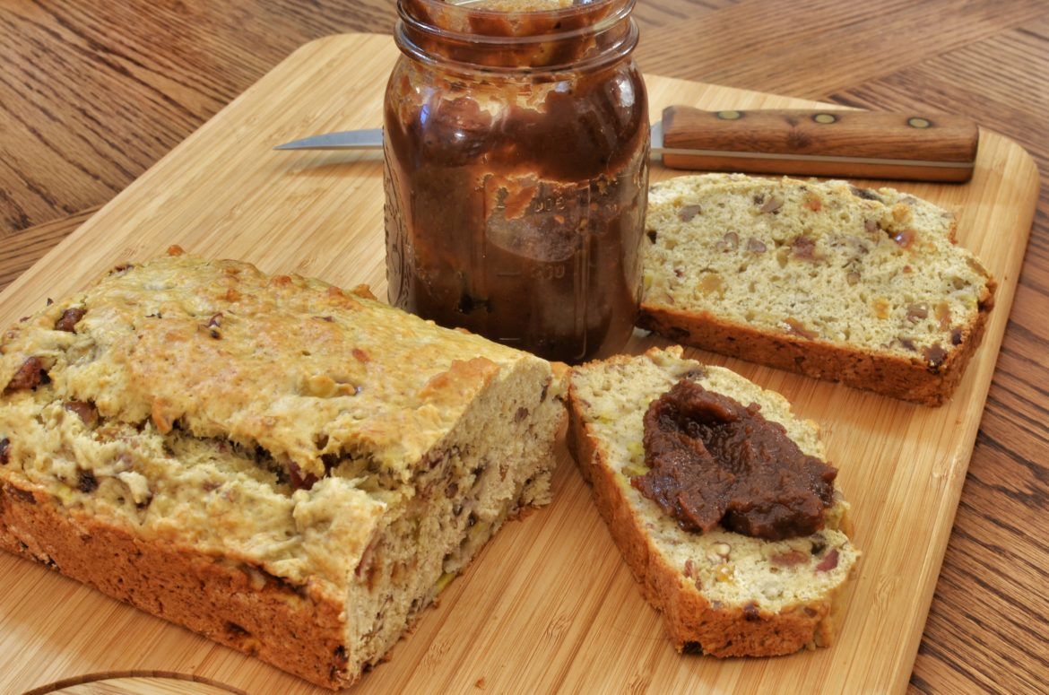 Banana nut bread with apple butter 15128383910