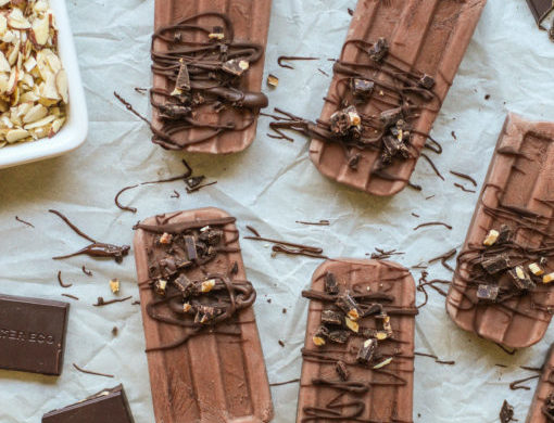 homemade fudgesicles table www girlontherange com  510x746