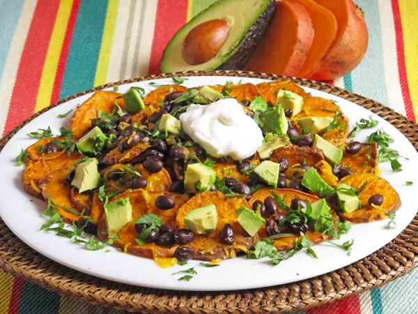 Keto Sweet Potato Nachos